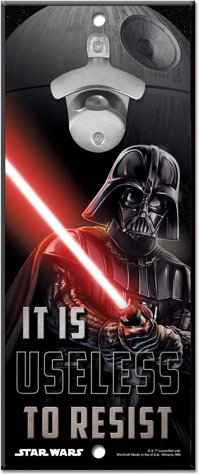 Amazon Com Wincraft Star Wars Star Wars Star Wars Original Trilogy Darth Vader Ep4 5x11 Bottle Opener Signwincraft Star Wars Original Trilogy Darth Vader Ep4 5x11 Bottle Opener Sign Multicolor Na Sports