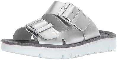 CAMPER Sandales Pour Femme Argenté Silber (Hola Silver/orugasand Blanco-Blanco) 37 EU - Argenté - Silber (Hola Silver/orugasand Blanco-Blanco), 36 EU