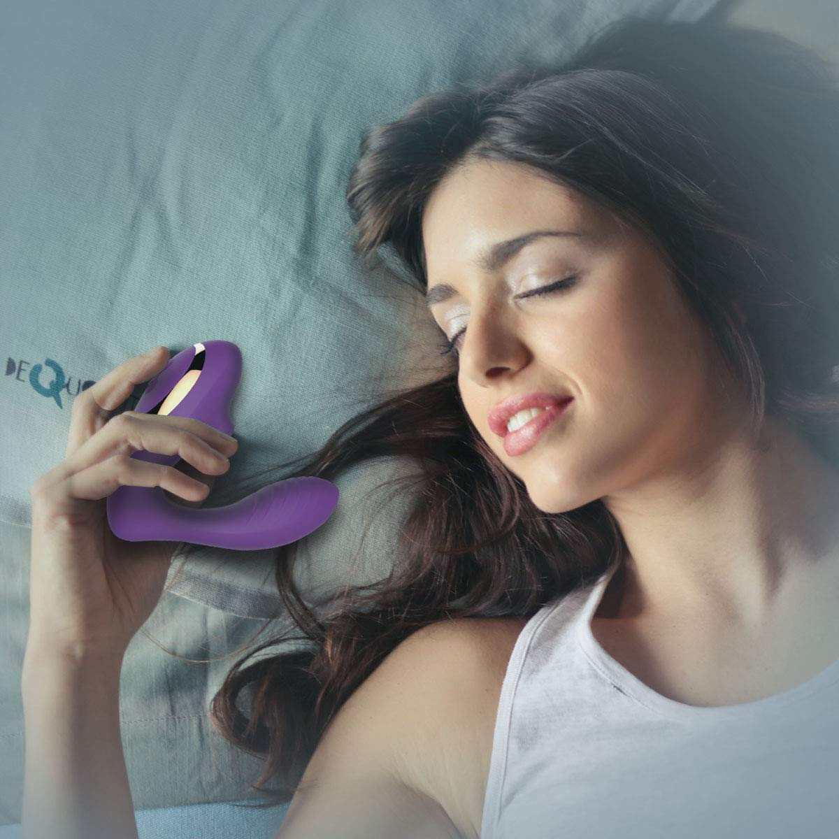 Clitoral Sucking Vibrator with Clitoris and G-Spot Stimulation, Wearable Dildos Couple Vibrators with 10 Suction & Vibration Settings, Rechargeable Waterproof Massager Sex Toys for Women by Tracy's Dog (Image #6)