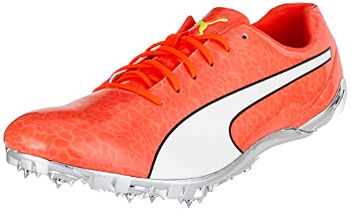 4834461d8df9aa Puma Evospeed Electric 6 Competition Running Shoes Red Blast Black White 5  UK