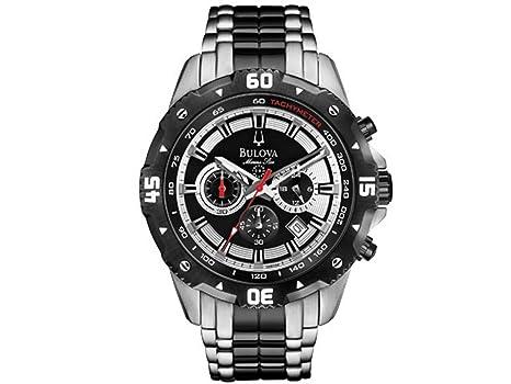 66b9eea6d46e Bulova Gents Sports Watch 98B194  Amazon.co.uk  Watches