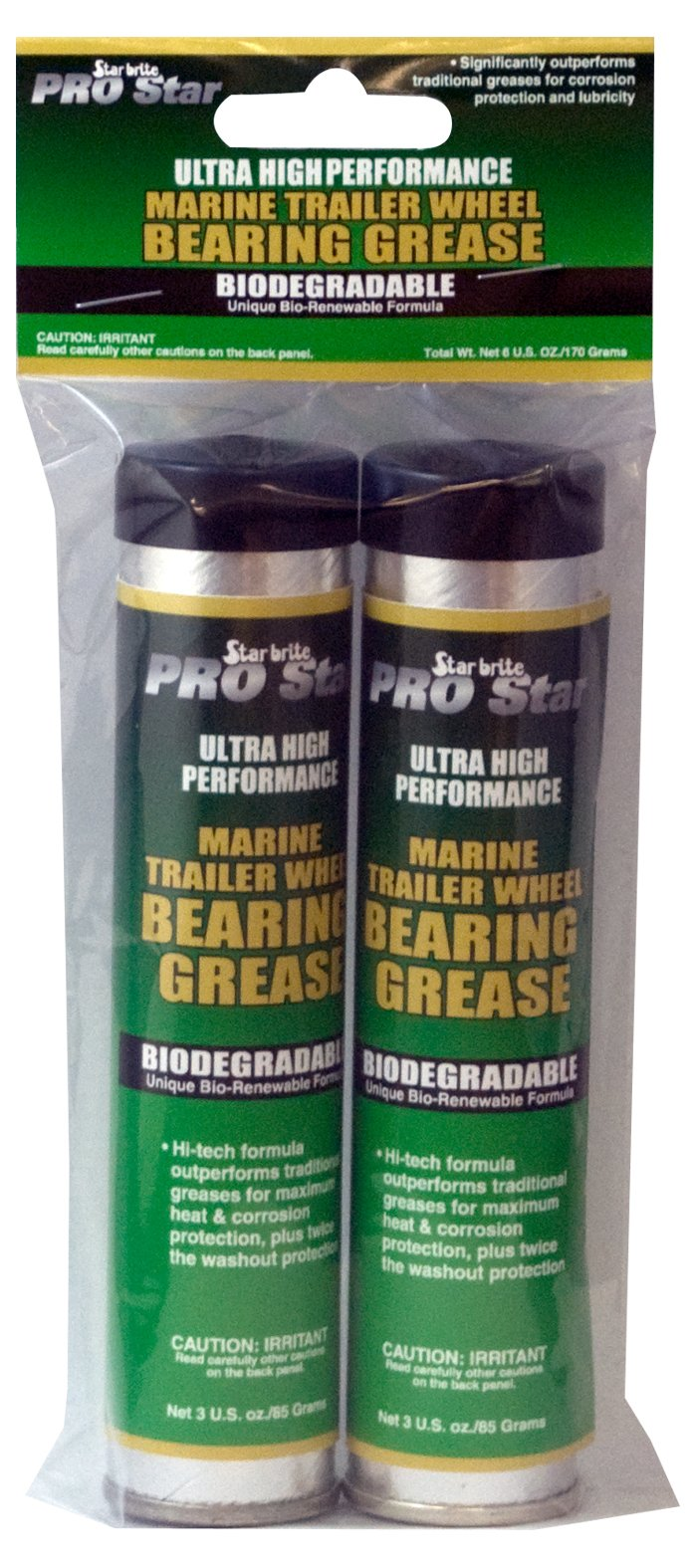 Star Brite Pro Ultra High Performance Grease (3-Ounce, Twin Pack)