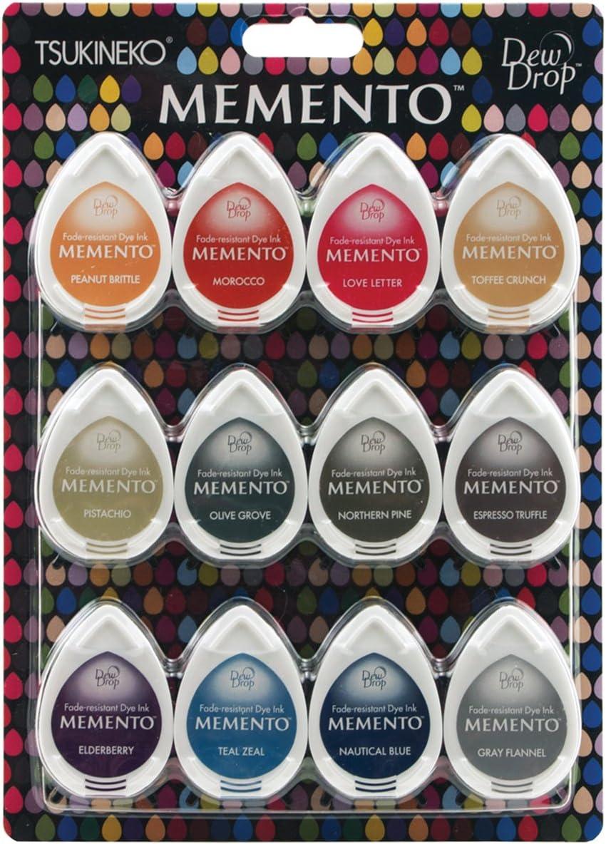 Memento Dew Drop Dye Inkpad-Cottage edera