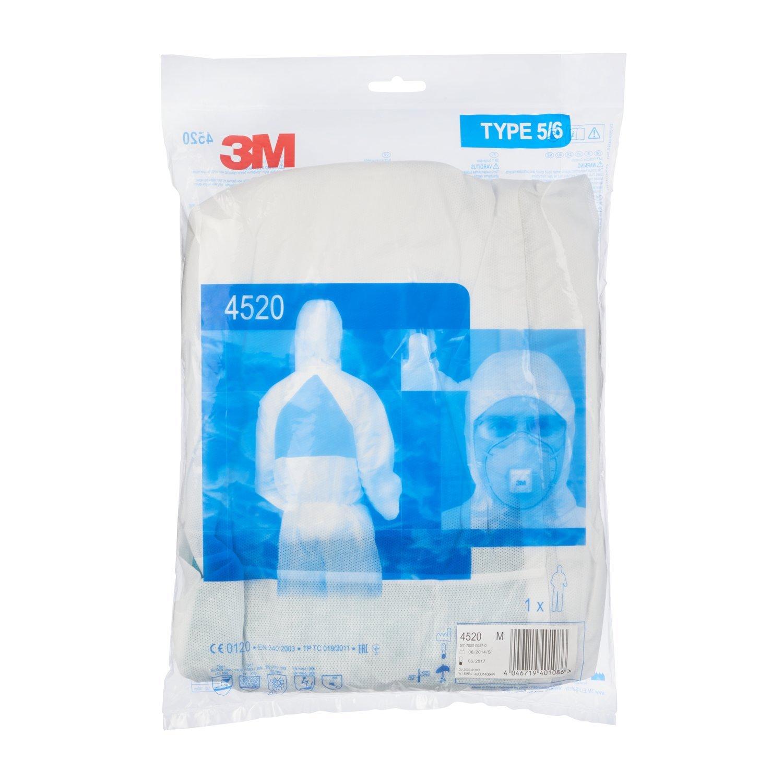 3M/™ 4520 Indumento di protezione 5//6 Taglia 2XL SMMMS polipropilene
