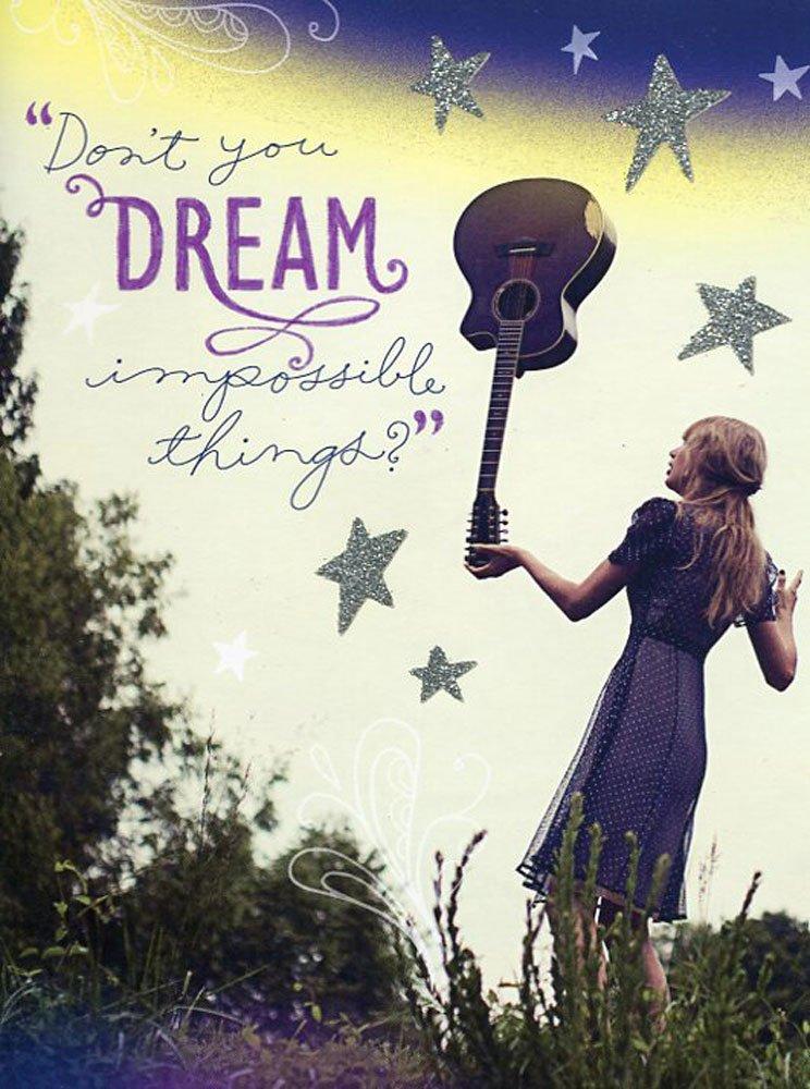 Amazon.com: Tarjeta de felicitación cumpleaños Taylor Swift ...