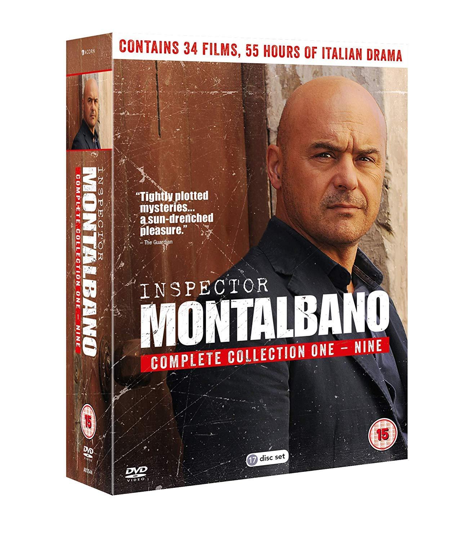 Inspector Montalbano Complete 1-9 Box Set [DVD] [Reino Unido]