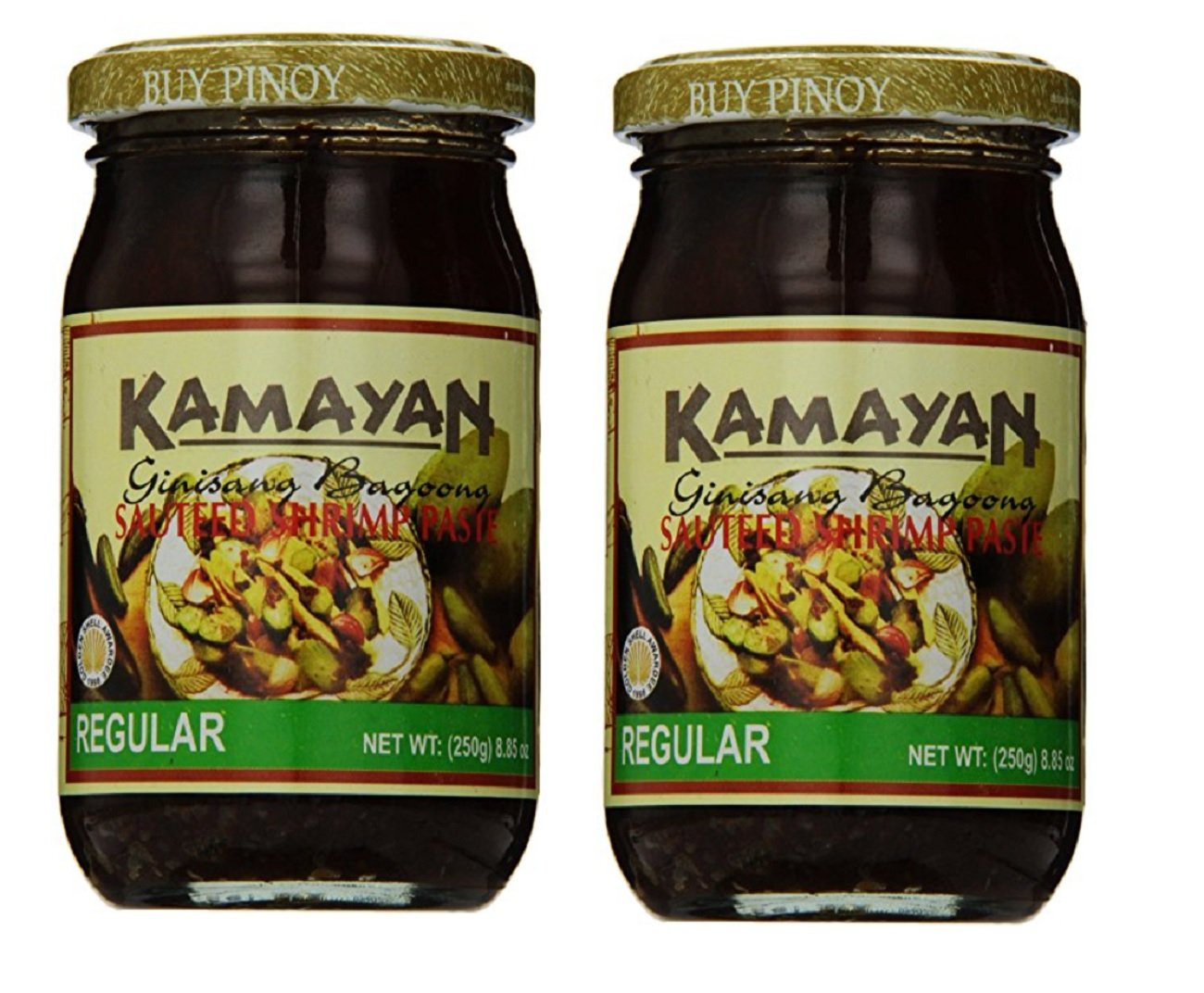 Kamayan Sauteed Shrimp Paste, Regular, 8.8 Ounce, 2 counts by World Food Mission (Image #1)
