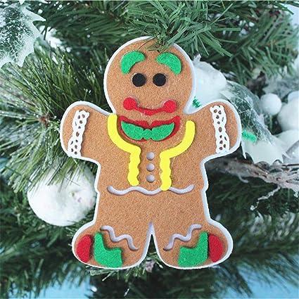 Weihnachtsdeko Lebkuchenmann.Lebkuchenmann Anhänger Für Weihnachten Adventskalender