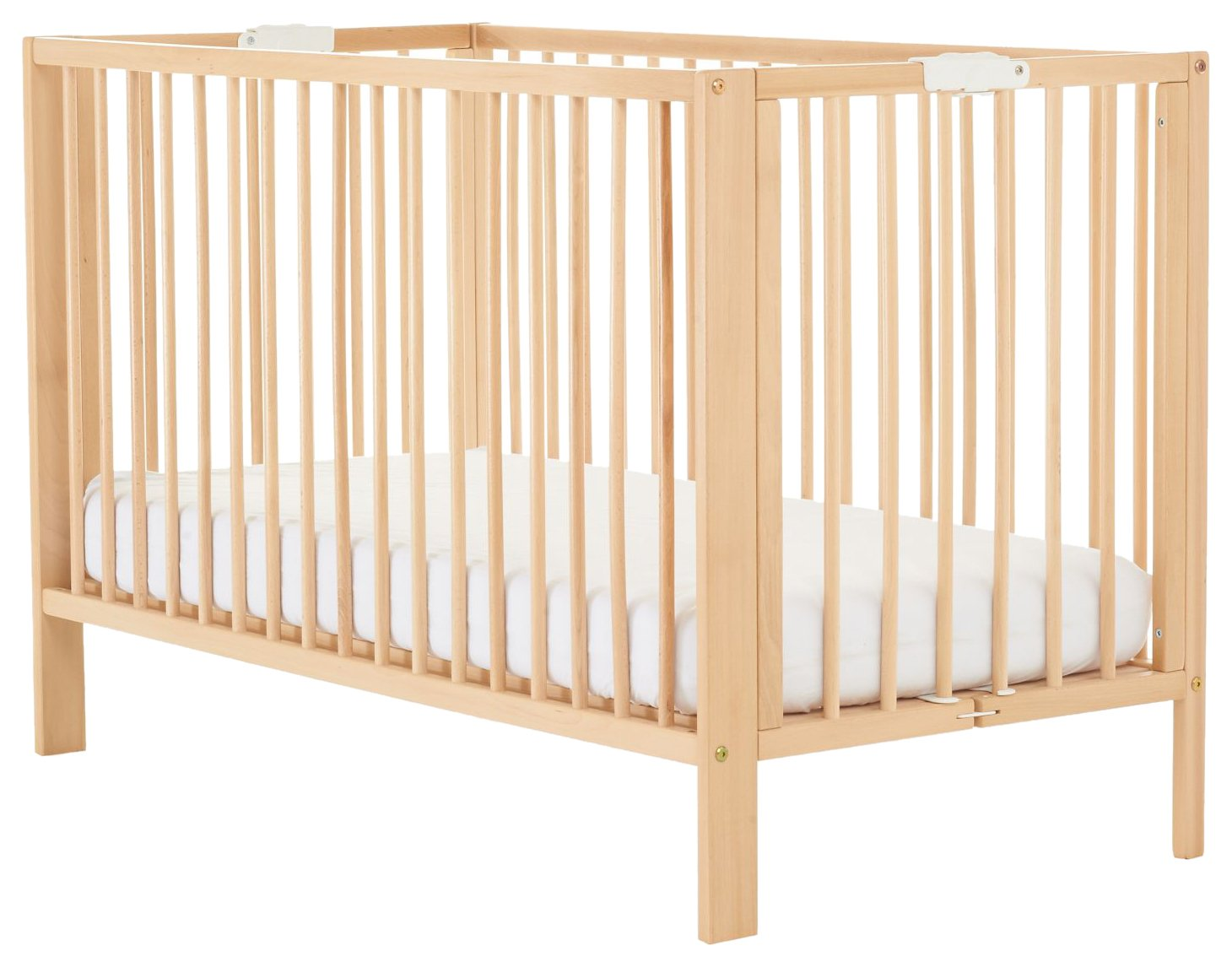 Mothercare Folding Cot, Beech 243085
