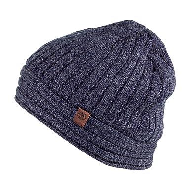 1479aa6e1 Timberland Hats Sherwood Isle Ribbed Beanie Hat - Navy: Amazon.co.uk ...