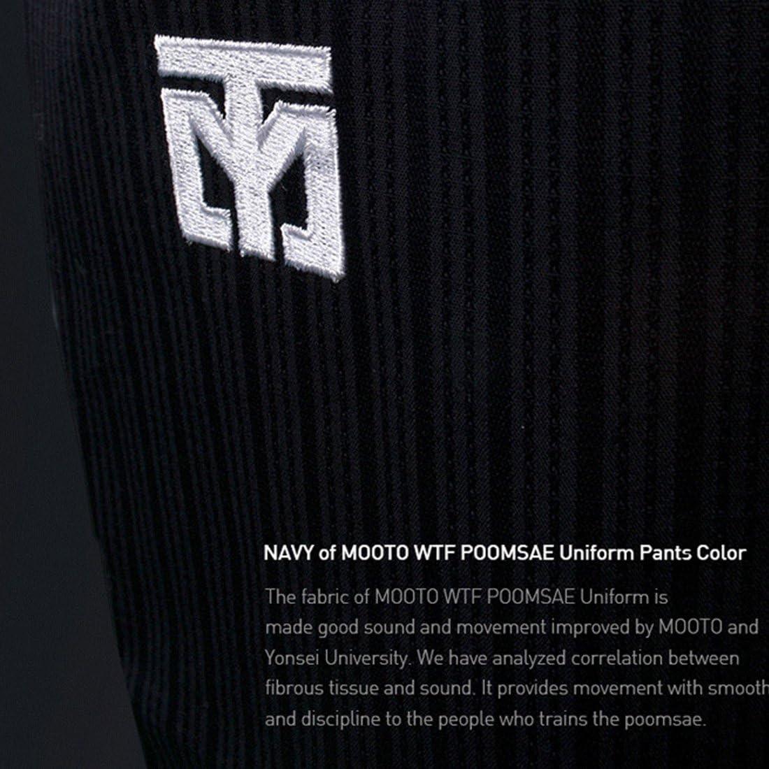 Professional Poomsae Uniforms Mooto Taebek Female Dan Holder New Suits WT Logo
