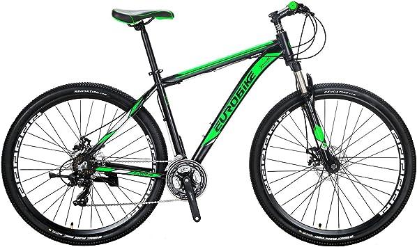 Eurobike X9 - Bicicleta de montaña (21 velocidades, 29 pulgadas ...