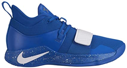 new product 66642 aa6bb Nike Men's PG 2.5 TB Basketball Shoes (Game Royal/White, 18 M US)