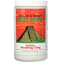 Aztec Secret Deep Pore Cleansing Indian Healing Clay 2 Pound (Pack of 2)