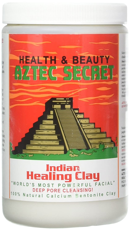 Aztec Secret - Indian Healing Clay - 2 lb. (Bundle of 2) | Deep Pore Cleansing Facial & Body Mask | The Original 100% Natural Calcium Bentonite Clay – New! Version 2