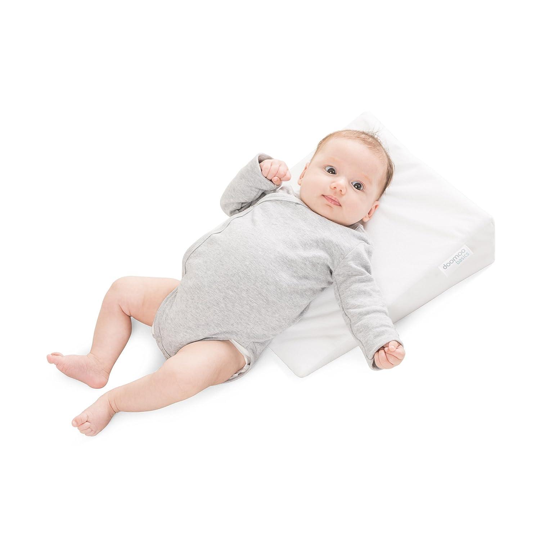Delta-Baby SJ 8 Rest Easy - Almohada inclinada para bebé (15º, tamaño pequeño: 29 cm de ancho)