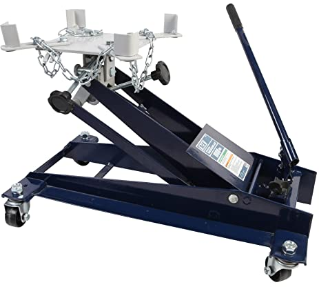 TCE Professional Grade Hydraulic Transmission Floor Jack: 1 Ton (2,000 Lb)  Capacity
