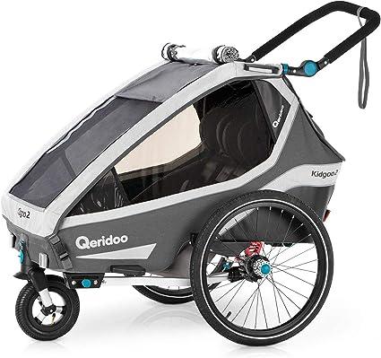 Qeridoo Kidgoo 2 2020 Kinderfahrradanhanger Fahrradanhanger 2