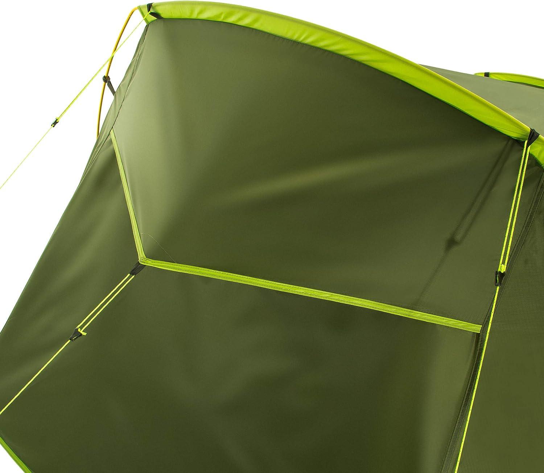 CAMPZ Torreilles 2P Zelt gr/ün//Olive 2019 Camping-Zelt