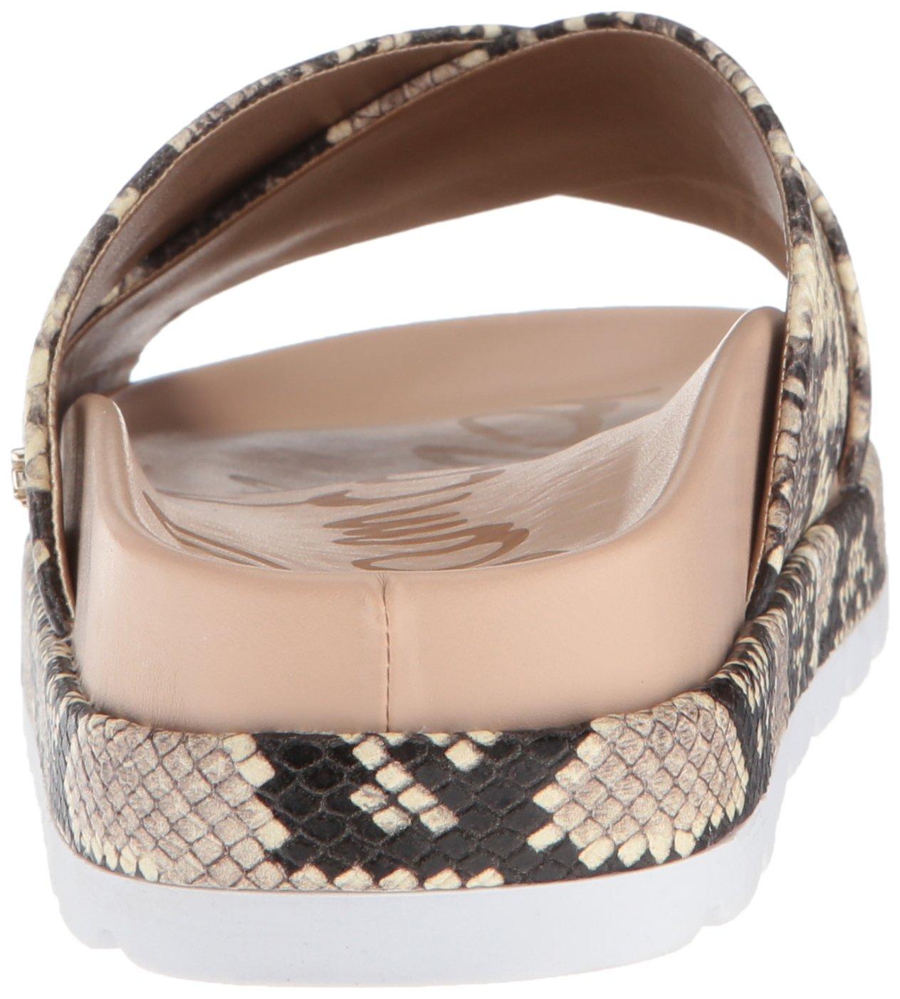 Sam Edelman Women's US|Natural Sadia Slide Sandal B078HQ645T 5 B(M) US|Natural Women's Snake Print ab488d
