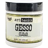 Prima Marketing 961466 Art Basics Gesso, 8.5-Ounce, Clear