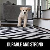 Gorilla Grip Original Area Rug Gripper Pad, 2.5x13, Made in USA, for Hard Floors, Pads Available in Many Sizes, Provides Protection and Cushion for Area Rugs and Floors
