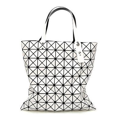 e4548b81c6cf Amazon.com: BeautyWJY Geometric Luminous Purse and Handbag for Women ...