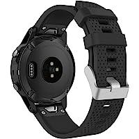 MoKo Pasek do zegarka kompatybilny z Garmin Fenix 5S, miękki silikonowy pasek zastępczy pasuje do Garmin Fenix 5S Plus…
