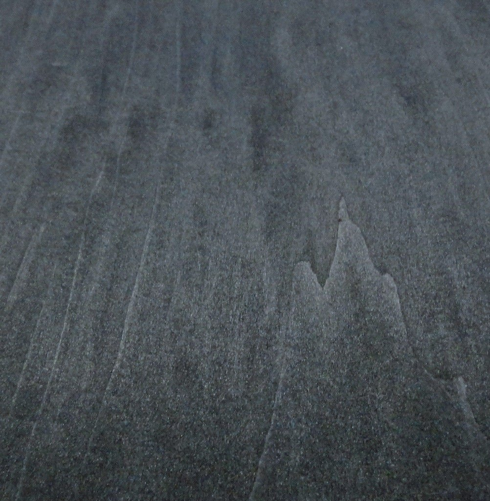 Black Poplar Dyed wood veneer sheet 48'' x 96'' with paper backer 1/40'' thickness
