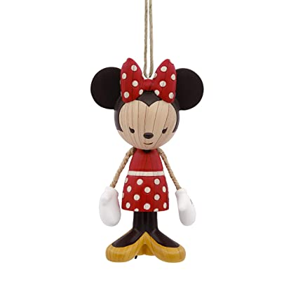 41952c963 Image Unavailable. Image not available for. Color: Hallmark Christmas  Ornament Disney Minnie Mouse ...