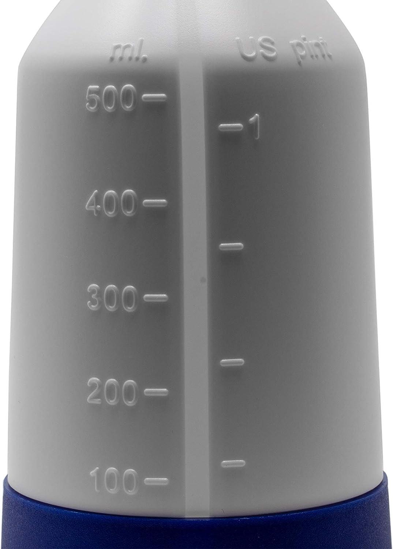 360 degrés Viton sprühflasche 0,5 L bleu rouge jaune vert 4x Mercury Super Pro