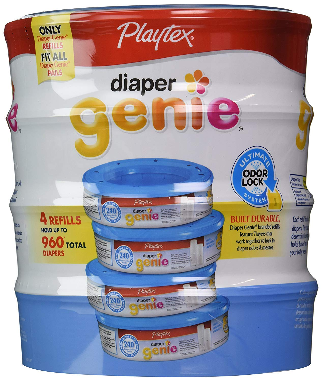 baby bath care - Wholesale Price Branded Playtex Diaper Genie Refills Bulk Qty at Whoesale Price, Genuine /& Soft Baby diaper 4 pk.