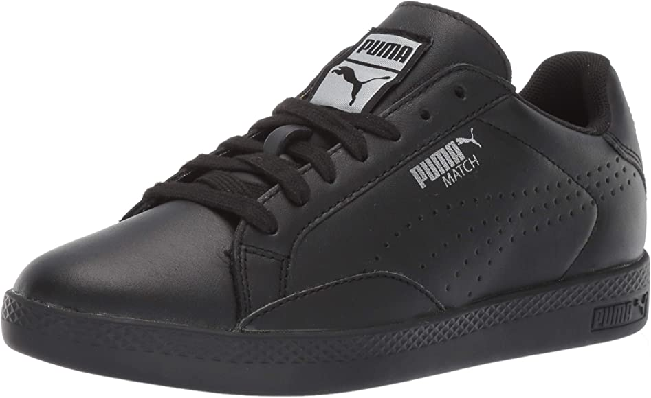 PUMA Women's Match 74 Sneaker, Black