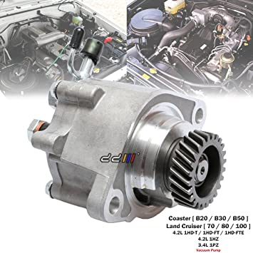 Image Unavailable. Image not available for. Color: Engine Vacuum Pump For Toyota Land Cruiser ...