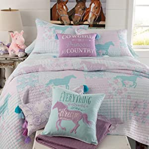 Rod's Cowgirl Princess Bed in a Bag Twin