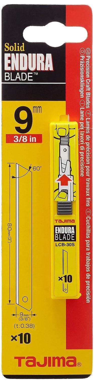 Tajima Caja con 9 mm Cuchillas sin rotura espacios, poliestireno, 1 pieza, Taj de 11708 1pieza LCB30SC