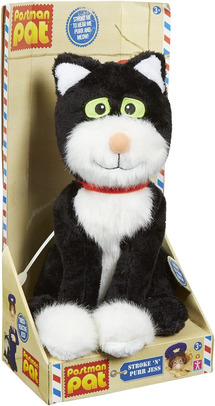 NEW 04713 Pat Stroke And Purr Jess Plush Toy Adorable Stroke N Purr Jess So GIFT