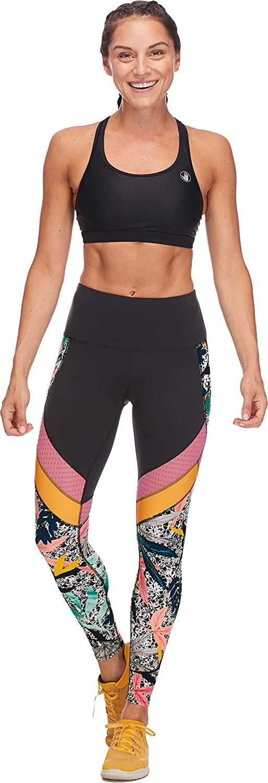 Body Glove Womens Gemini Performance Fit Activewear Legging Pant