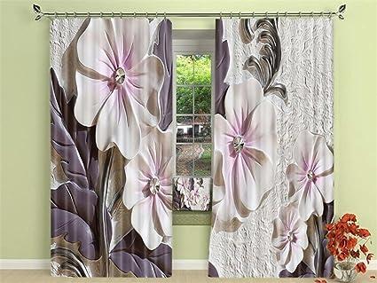 Tende A Fiori Per Camera Da Letto : Xfkl tende per la cameretta tende oscuranti stampa floreale ricche