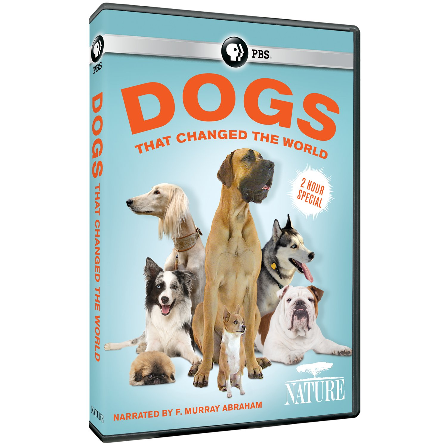 NATURE: Dogs that Changed the World (2016) DVD