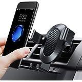 TORRAS Handyhalterung Auto, [Lebenszeit Garantie] Universal Multi-Winkel Schwerkraft KFZ Anti-Shake lüftung Autohalterung für iPhone 8/8 Plus/X/6S, Galaxy S9 S8 Plus und Andere Smartphones - Schwarz