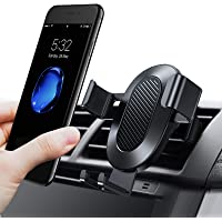 TORRAS Cell Phone Holder for Car, Auto-Clamping Air Vent Car Mount Holder Cradle Compatible for iPhone Xs/Xs Max/XR/X / 8/8 Plus / 7/7 Plus Samsung Galaxy S9 / S9 Plus and More – Black