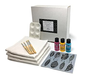 Kit de manualidades DIY Proyecto – -Haga su propia pluma de harina saco toallas de