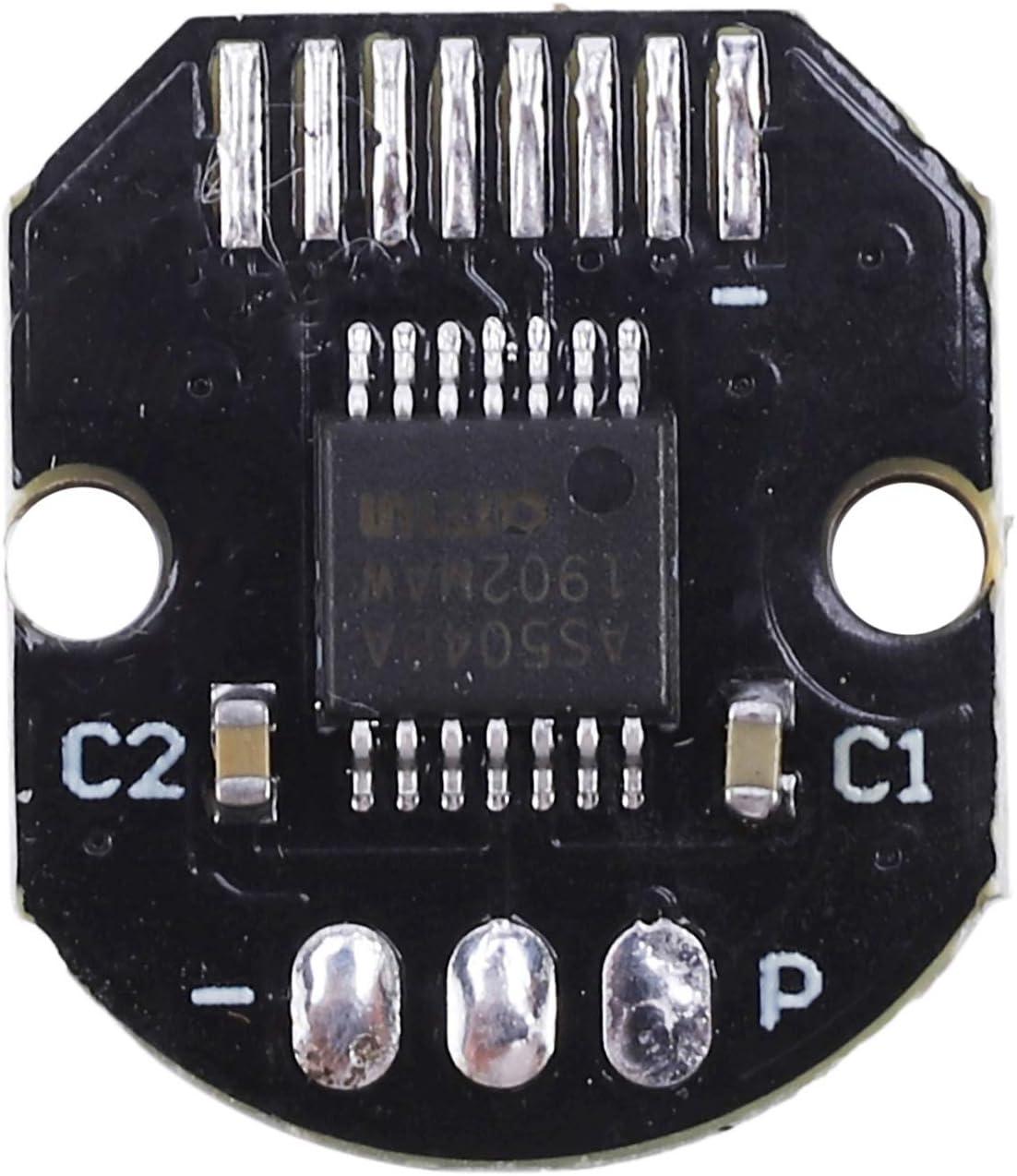 Dasing As5048 Magnetisch Encoder Set Pwm und SPI Schnittstellen Pr?Zision 14 Bit Kein B/üRsten Halter Rotary Sensor f/ür B/üRstenlosen Motor