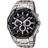 Casio Edifice Chronograph Black Dial Men's Watch - EF-540D-1AVDF (ED371)