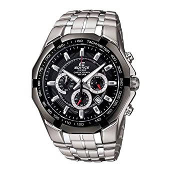 bbc1a8bad Casio Edifice Chronograph Black Dial Men's Watch - EF-540D-1AVDF (ED371)