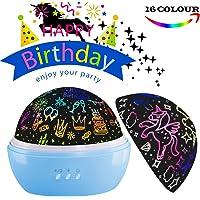 Regalo de cumpleaños para niños, proyector de luz