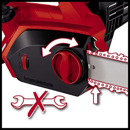 Einhell GH-EC 2040 - Motosierra eléctrica (2000 W) color rojo ...