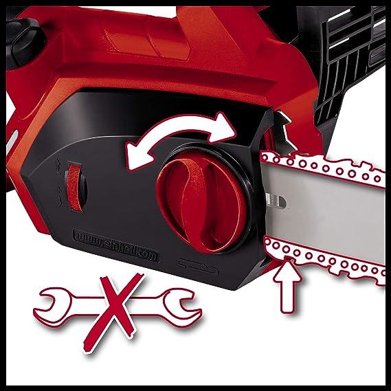 Einhell GH-EC 2040 - Motosierra eléctrica (2000 W) color rojo