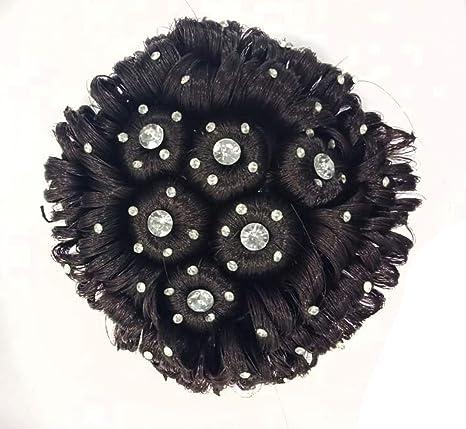 Baal Designer Stone Bridal Wedding Hair Extension Juda Accessories